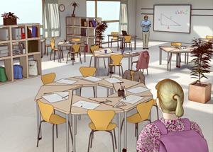 Das Perfekte Klassenzimmer (die Zeit)